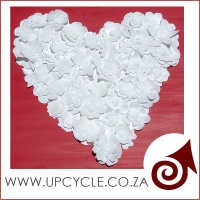 milk bottle heart