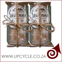 hand cut and crafted savana drinking glasses