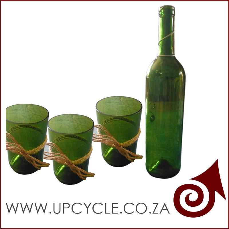 Wine bottle glass tumblers for How do i cut glass bottles