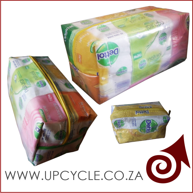 dettol products upcycled