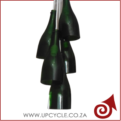 green bottle light fitting basic 2