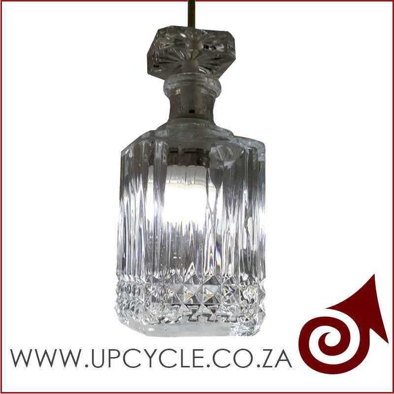 Decanter light fitting