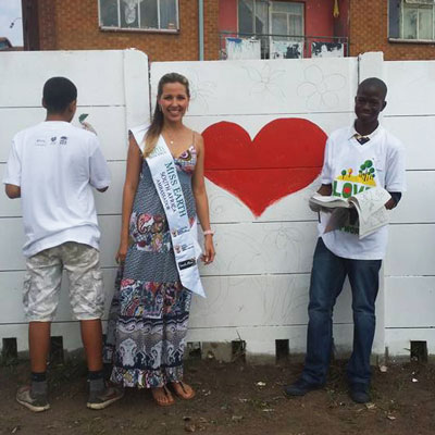 miss earth speading the love