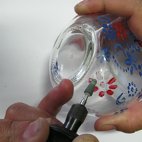 glass jar etch