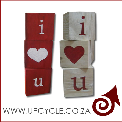 i love you background upcycle