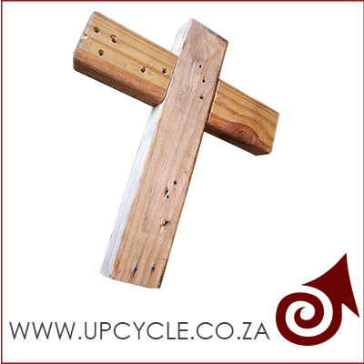 Upcycled Wooden Cross Project