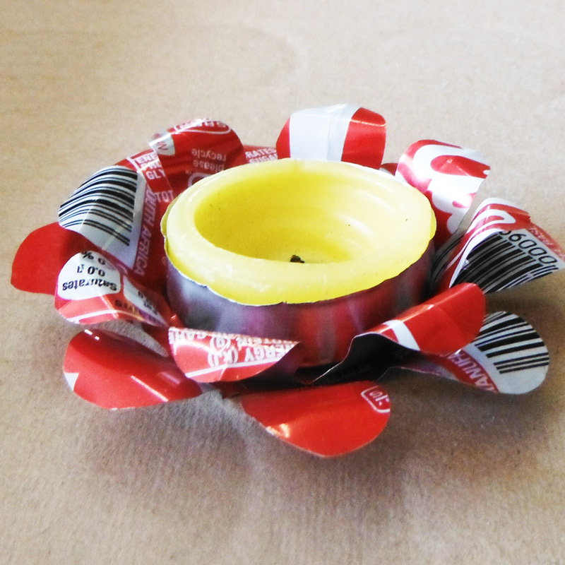 coke can tea light
