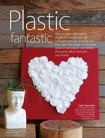 ideas mag milk bottle heart