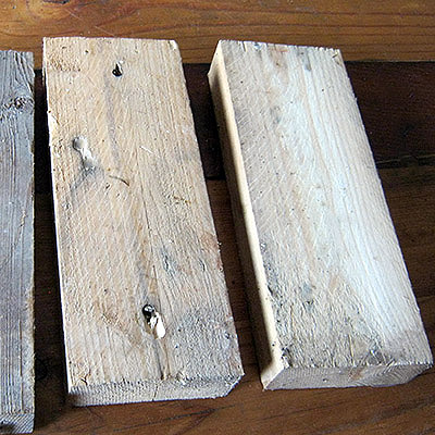 wooden blocks raw