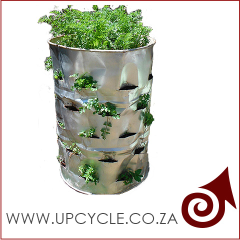 metal drum plants upcycle bkgrnd